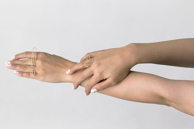 Golshan Long Ring