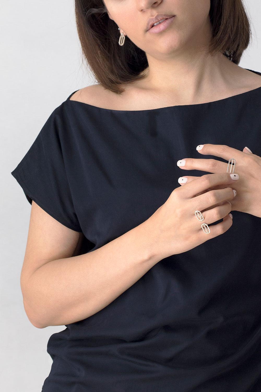 Golshan Silver Ring