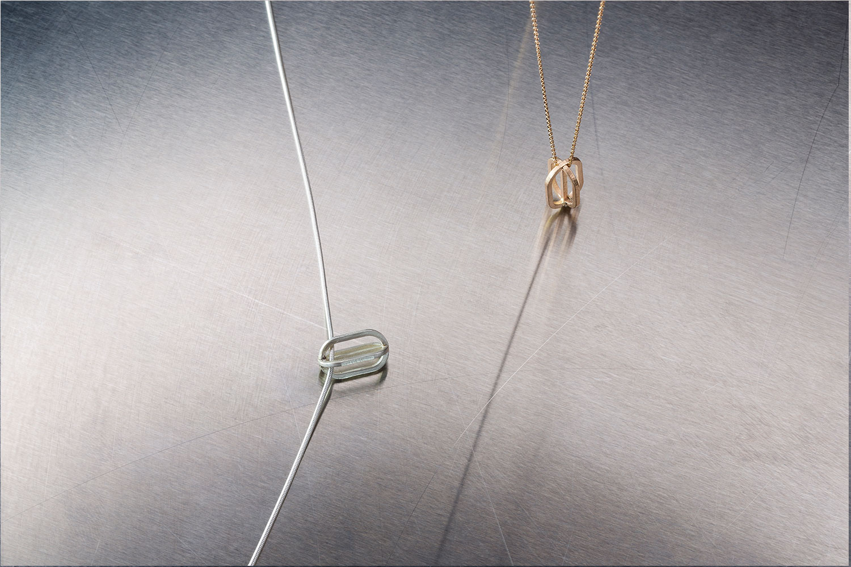 Golshan Small Silver Pendant