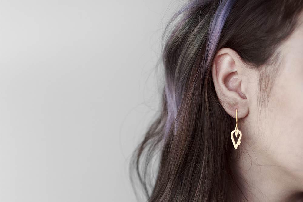 Saari Ceramic Earrings