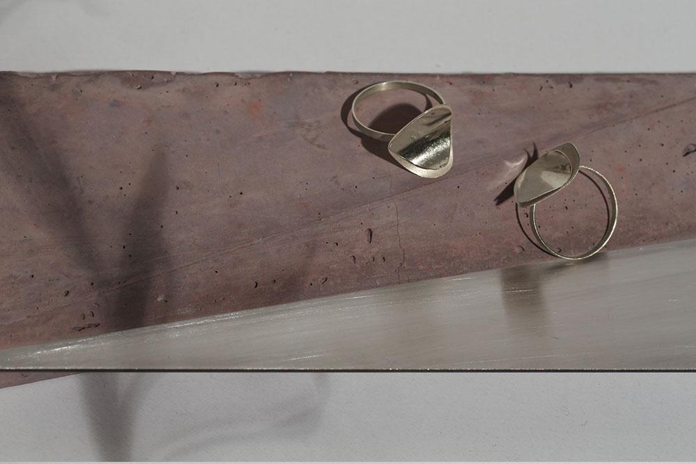 Petal Silver Ring